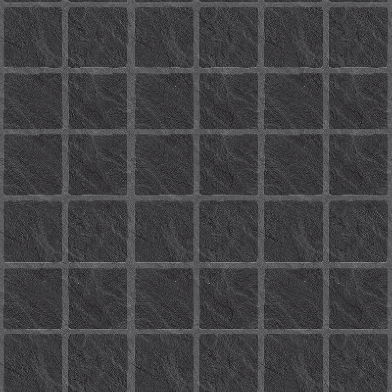 Black Slate Large Tile Effect Wall Panel by Multipanel