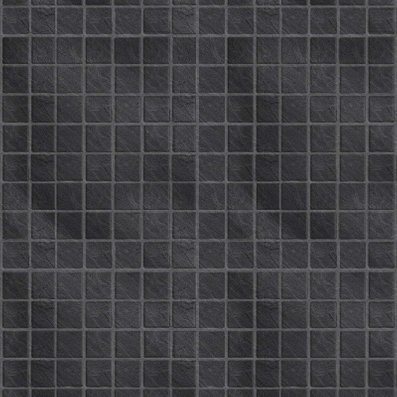 Black Slate Small Tile Effect Wall Panel by Multipanel
